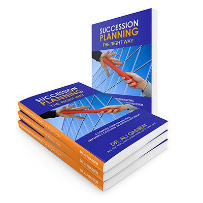 Succession Planning Book | Dr. Ali Qassem